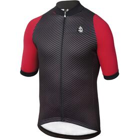 Etxeondo Carbono maglietta a maniche corte Uomo rosso/nero